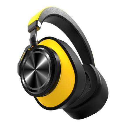 Беспроводные наушники Bluedio T6 Yellow