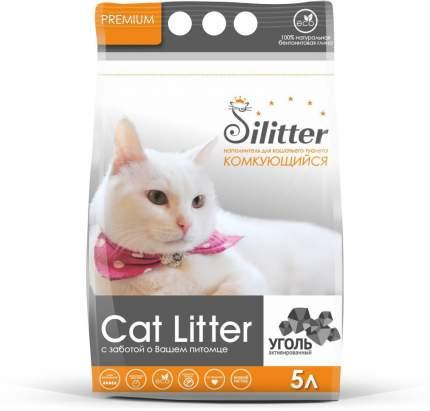 Комкующийся наполнитель для кошек Silitter бентонитовый, 4 кг, 5 л