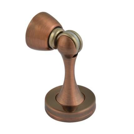 Ограничитель двери НОРА-М 809 магнитный, универсальный, старая медь
