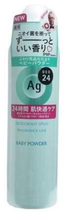 Дезодорант Shiseido Ag DEO24 С легким цветочным ароматом детской присыпки 142 г