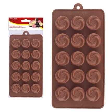 """Форма для шоколадных конфет силиконовая """"Розочки"""""""