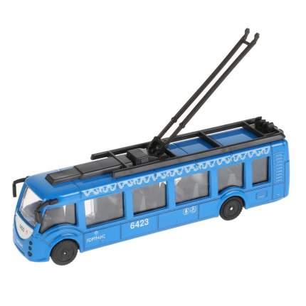 Троллейбус металлический Технопарк 15см