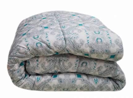 Всесезонное двухспальное одеяло SleepMaker Sanita Eco 172x205см Лебяжий пух (иск.) Малахит