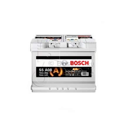 Аккумуляторная Батарея S5 Agm [12v 70ah 760a B13] Bosch