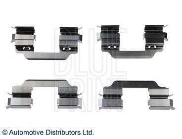 Комплект тормозных колодок Blue Print ADN148601