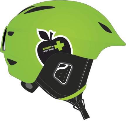 Горнолыжный шлем мужской Movement Icon 2018, зеленый, L