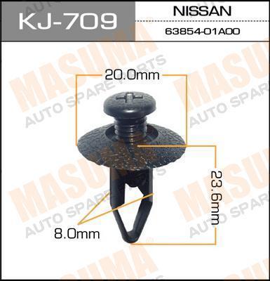 Клипса автомобильная Masuma KJ709