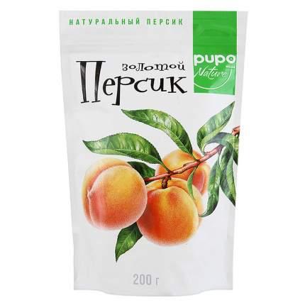Персик Pupo золотой сушеный вяленый 200 г