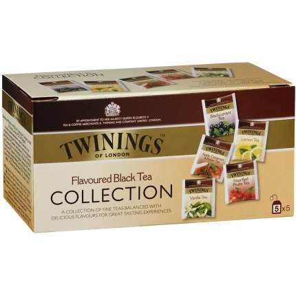 Набор Twinings ассорти 5 вкусов чай черный байховый 20 пакетиков