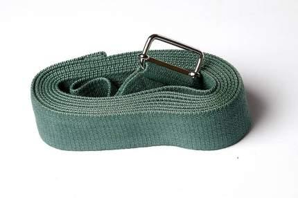 Ремень для йоги RamaYoga Де Люкс цветной, зеленый
