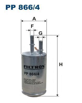 Фильтр топливный Filtron PP8664