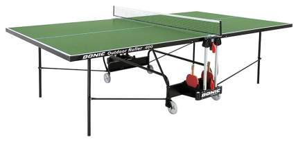 Теннисный стол Donic Outdoor Roller 400 зеленый, с сеткой