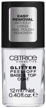 Закрепитель лака для ногтей Catrice Glitter Peel-Off Base & Top Coat 10 мл