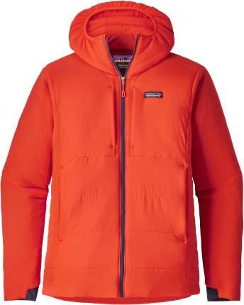 Спортивная куртка мужская Patagonia Nano-Air Hoody, paintbrash red, L