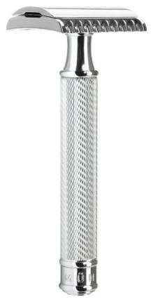 Т-образная бритва Muehle Traditional Т-образный c удлиненной ручкой Хром open comb