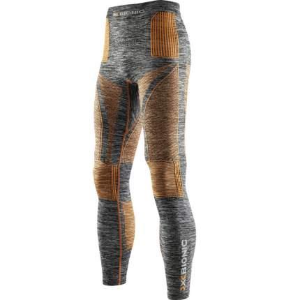 Кальсоны X-Bionic Accumulator Evo Melange 2019 мужские светло-серые/оранжевые, L/XL