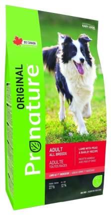 Сухой корм для собак Pronature Original Adult, ячмень, ягненок, 18кг