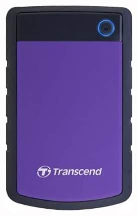 Внешний жесткий диск Transcend StoreJet 4TB Purple/ Black (0TS4TSJ25H3P)