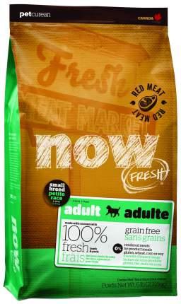 Сухой корм для собак NOW Fresh Adult Small, для мелких пород, ягненок, овощи, 2,72кг
