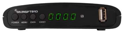 DVB-T2 приставка Selenga T81D black