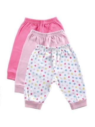 Комплект штанишек LUVABLE FRIENDS Розовый р.74