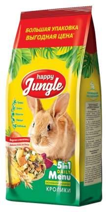 Корм для кроликов Happy Jungle витаминизированный 0.9 кг 1 шт