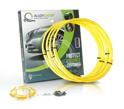 Защитные кольца на диски AlloyGator R13-21 желтые