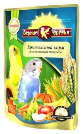 Основной корм Верные друзья для волнистых попугаев 550 г, 1 шт