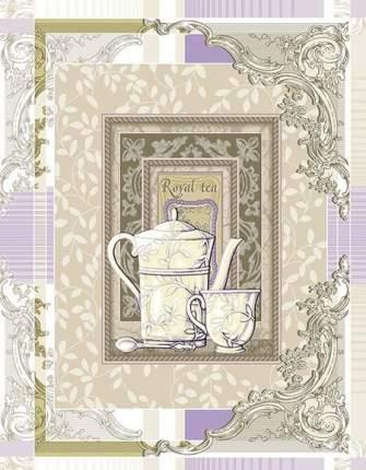 """Полотенце кухонное вафельное """"Королевский чай"""""""