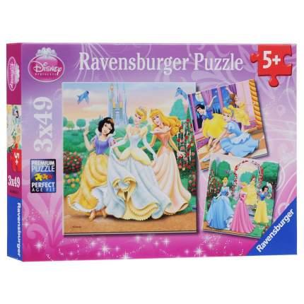 Пазл «Прекрасные принцессы» 3х49 шт. Ravensburger