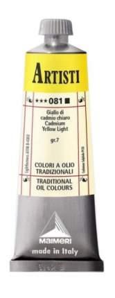 Масляная краска Maimeri Artisti 081 кадмий желтый светлый 60 мл