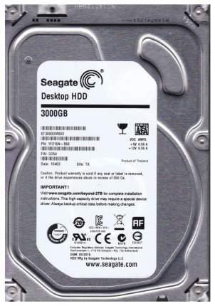 Внутренний жесткий диск Seagate Desktop BarraCuda 3TB (ST3000DM003)