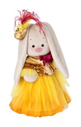 Мягкая игрушка Budi Basa Зайка Ми барышня в янтарно-золотом 25 см