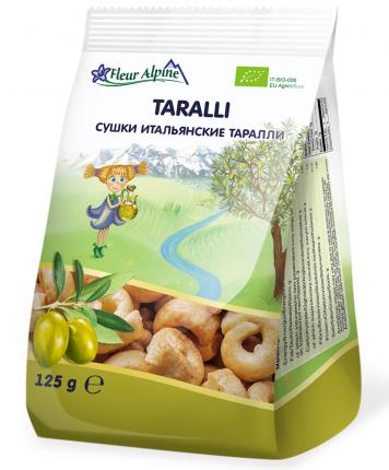 Сушки итальянские Fleur Alpine Органик Таралли с 12 мес. 125/20