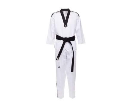 Добок Adidas WTF Adi-Club 3, white/black, 140