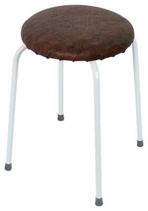Табурет ЗМИ Пенек легкий круглый до 80 кг Коричневый