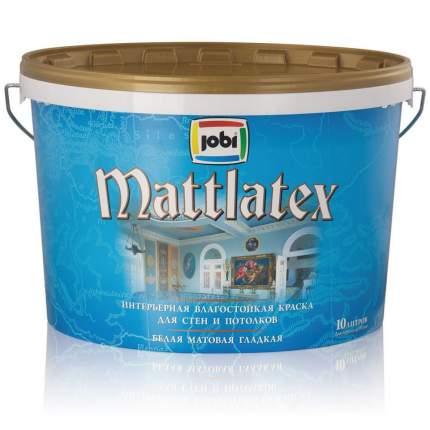 Краска JOBI MATTLATEX влагостойкая -30С° 10л