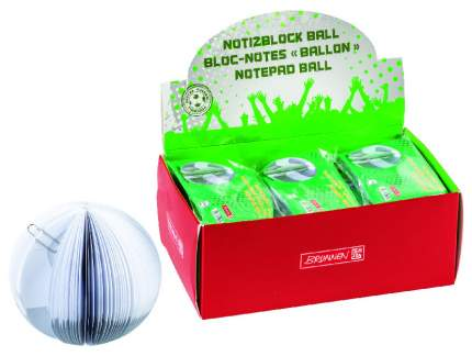 Блокнот для записей Brunnen Футбольный мяч, 150 листов