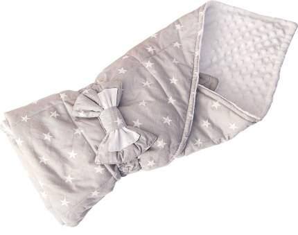 Конверт-одеяло SlingMe Звездочки серый