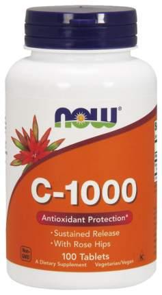 Витамин C NOW C-1000 Sr With Rose Hips 100 табл.