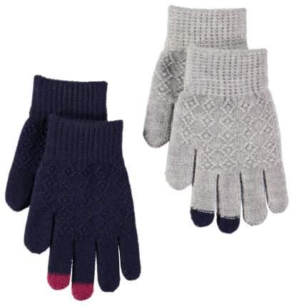 Перчатки Molo kyra фиолетовые/серые р.2-5лет
