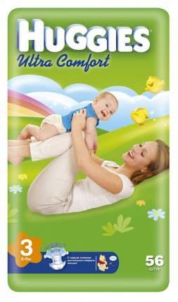 Подгузники Huggies Ultra Comfort (3 (5-9 кг) 56 шт)