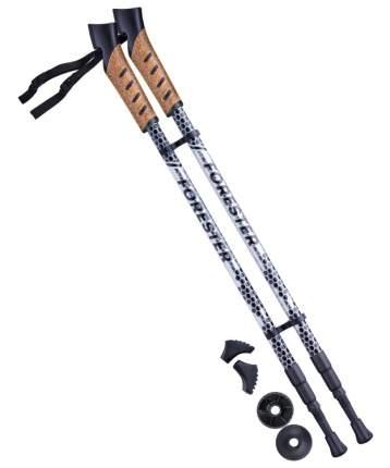 Палки для скандинавской ходьбы Berger Forester, 67-135 см, 3-секционные, серый/черный