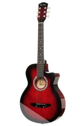 Акустическая гитара COWBOY 3810C RDS