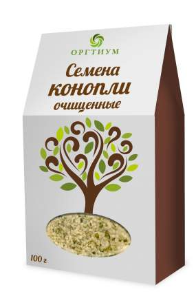 Семена конопли (ядра) Оргтиум экологические очищенные 100 г