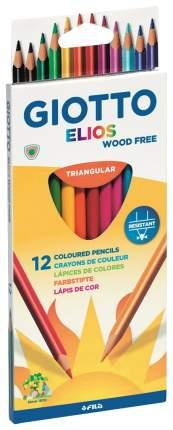 Набор цветных карандашей GIOTTO ELIOS TRI 275800