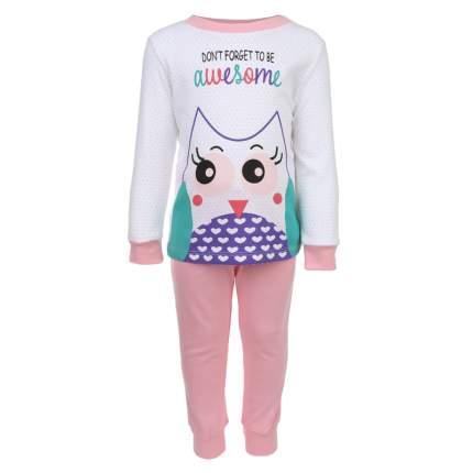 Пижама детская Bembi, цв. розовый р.128