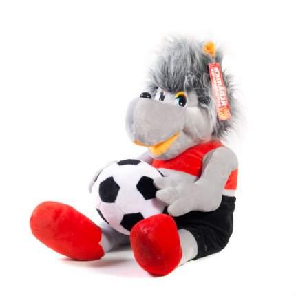 Мягкая игрушка Волк с мячом 54 см Нижегородская игрушка См-742-4