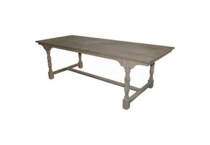 Кухонный стол ROOMERS 78x240х100 см, коричневый