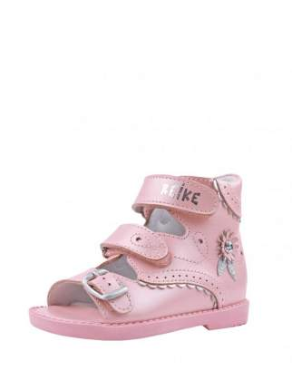 Сандалии для девочки Reike, AS18-043, 20 розовый